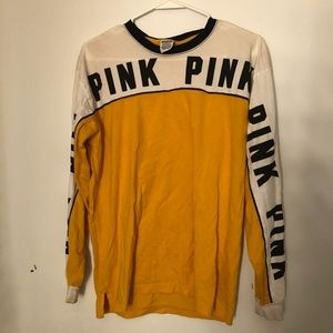 PINK victoria's secret long sleeve tee shirt